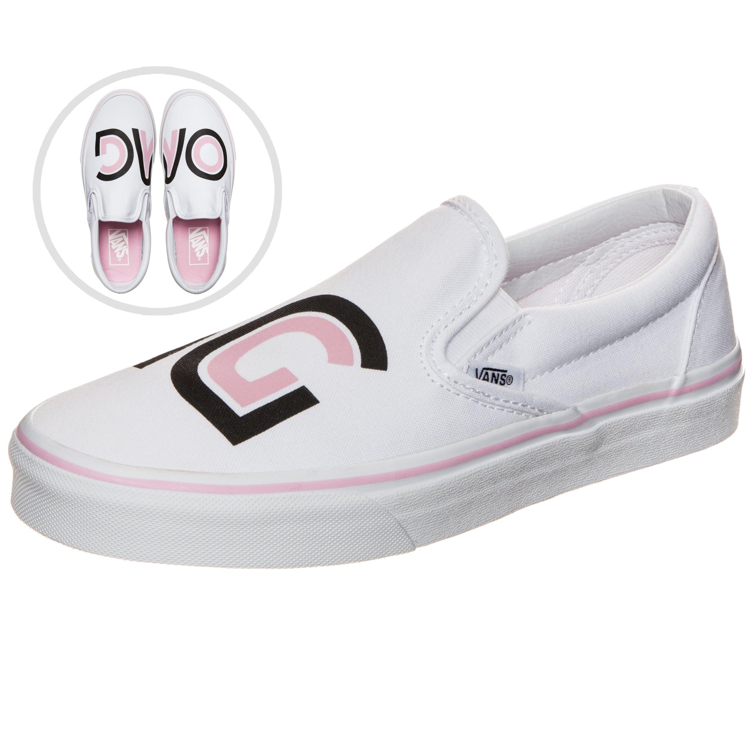 Um Zu Verkaufen VANS Classic Slip-On Sayings Sneaker Damen Outlet-Store Rabatt Großhandel Erschwinglicher Verkauf Online H128oxGevt