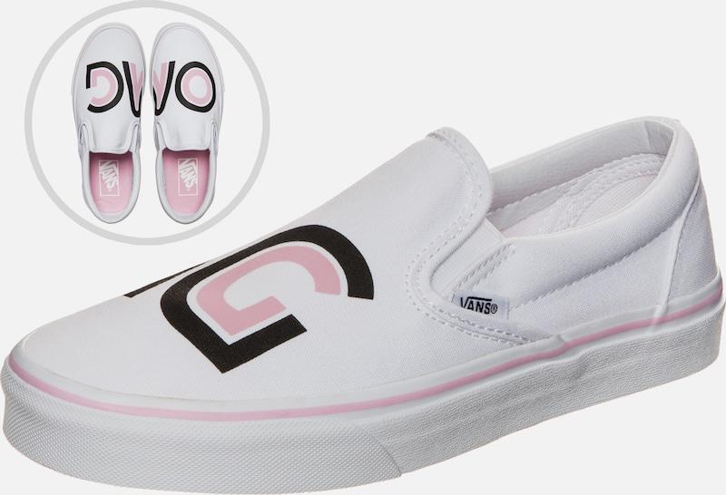 VANS Classic Slip-On Sayings Sneaker Damen