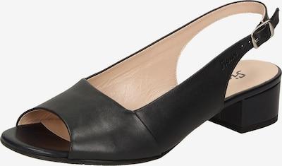 SIOUX Slingpumps 'Zippora' in schwarz, Produktansicht