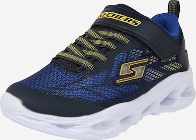 SKECHERS Sneaker in blau / navy / gelb, Produktansicht