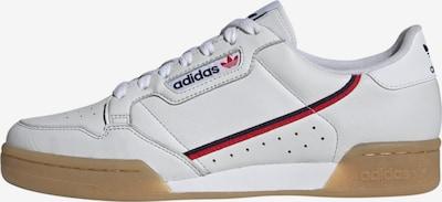 Sneaker low 'CONTINENTAL 80' ADIDAS ORIGINALS pe navy / roșu / alb, Vizualizare produs