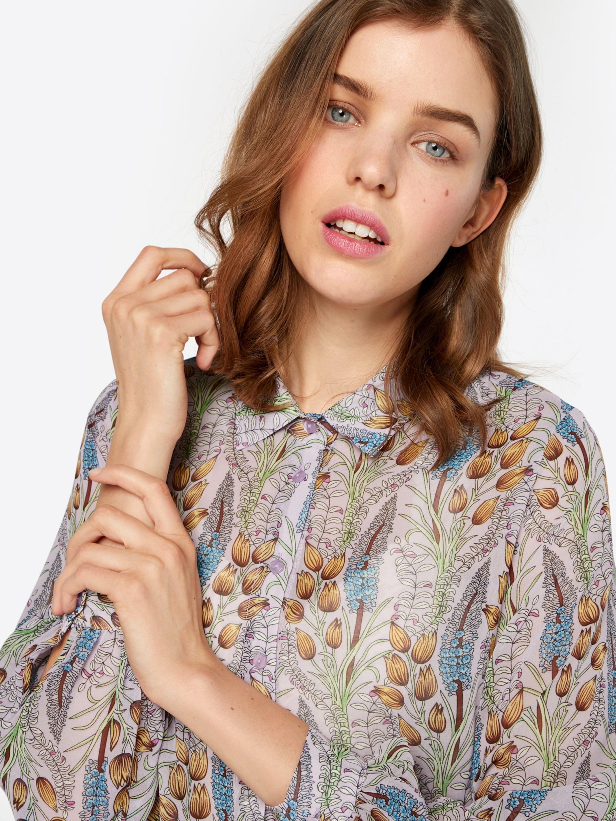 SISTERS POINT Jungle Bluse Wirklich Online-Verkauf oBRqw0SL