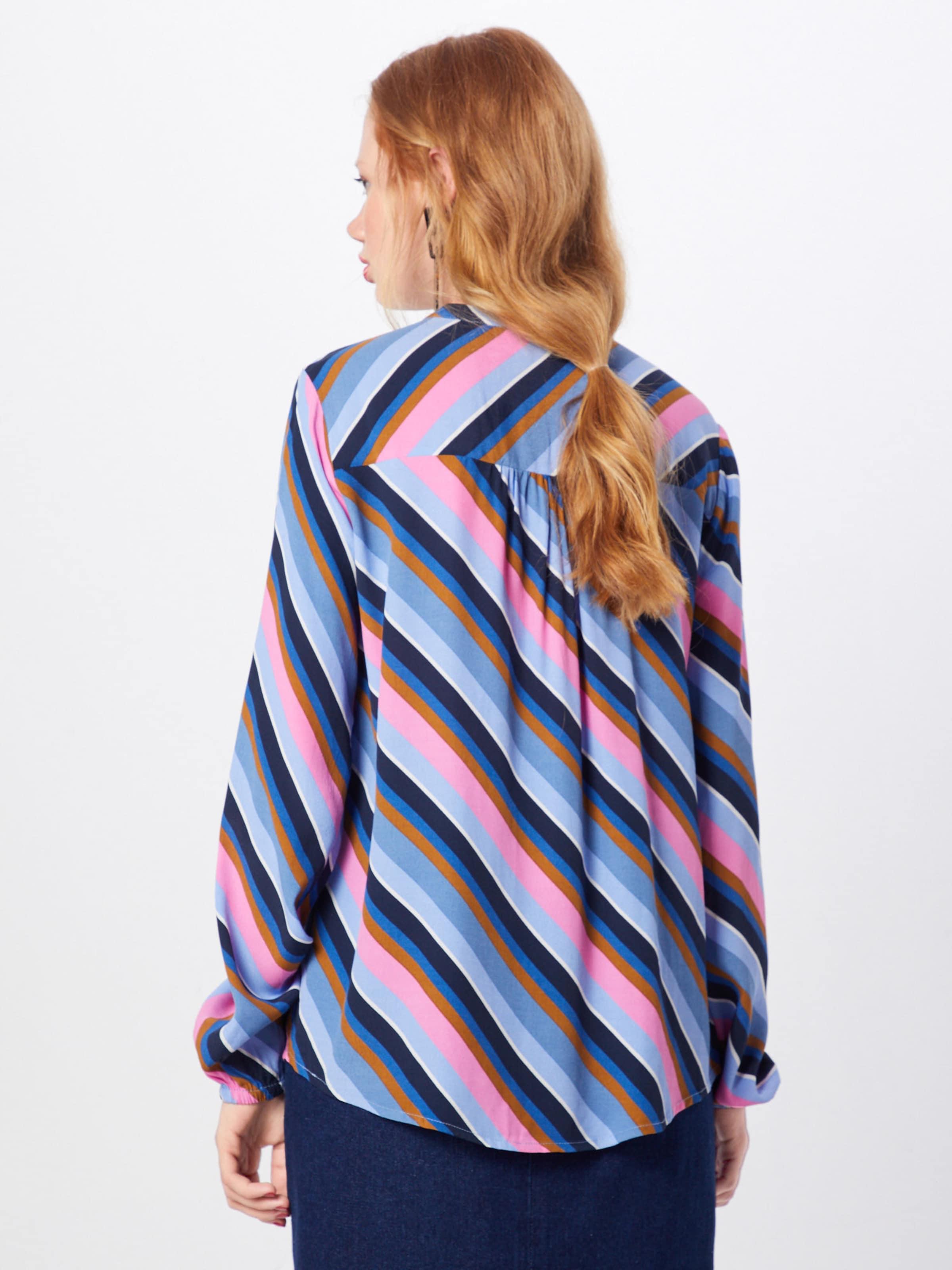 Bluse 'rylan Shirt' Print Modström LilaRosa In DHIWE92