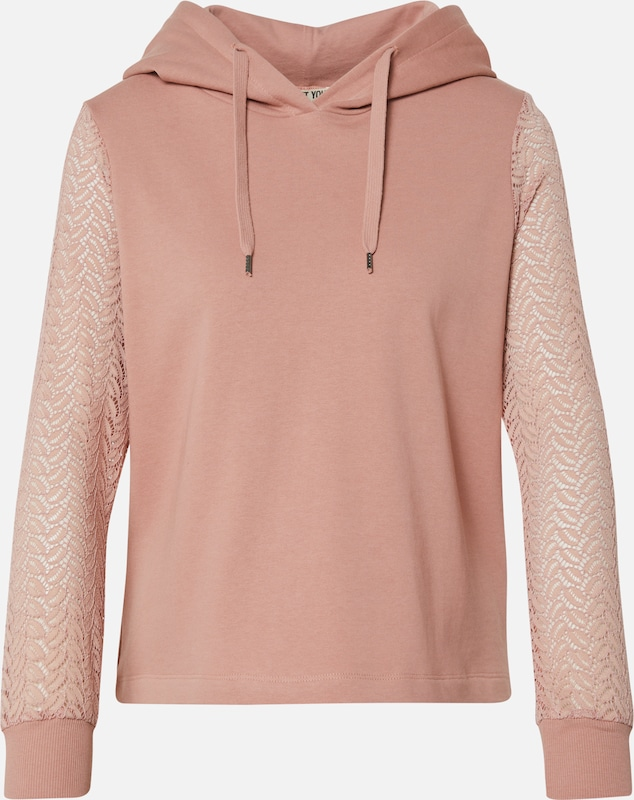 ABOUT YOU Sweatshirt 'Svenja' in pink / rosa, Produktansicht