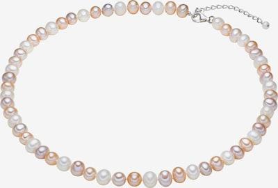 Valero Pearls Kette in creme / rosé, Produktansicht