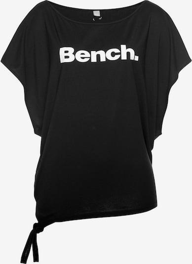 BENCH Bench. T-Shirt in schwarz, Produktansicht