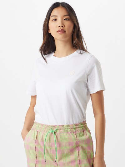 WOOD WOOD T-shirt 'Mia' en blanc: Vue de face