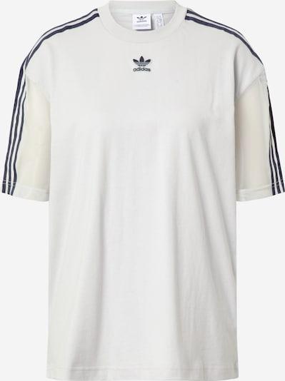 ADIDAS ORIGINALS T-Shirt in hellgrau / schwarz, Produktansicht