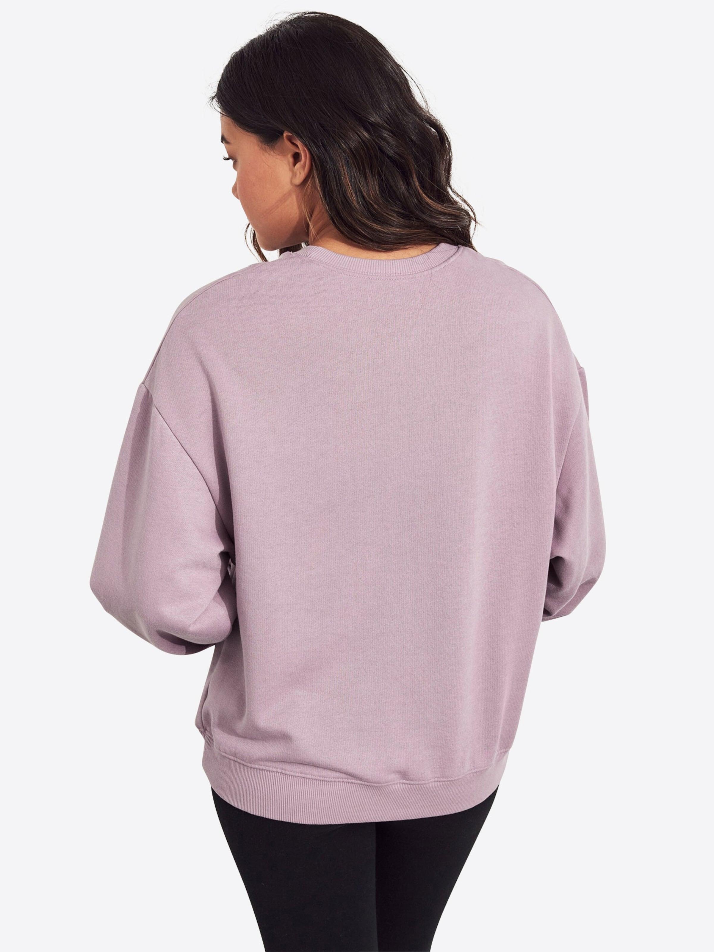 Hollister Cre' Flieder In barcelona Shoulder Sweatshirt Os Drop 's119 vf7gbIYy6