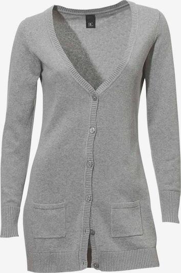 Linea Tesini by heine Gebreid vest in de kleur Grijs, Productweergave