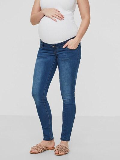 MAMALICIOUS Jeans in blue denim / grau: Frontalansicht