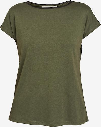 ECHTE Shirt in de kleur Olijfgroen: Vooraanzicht