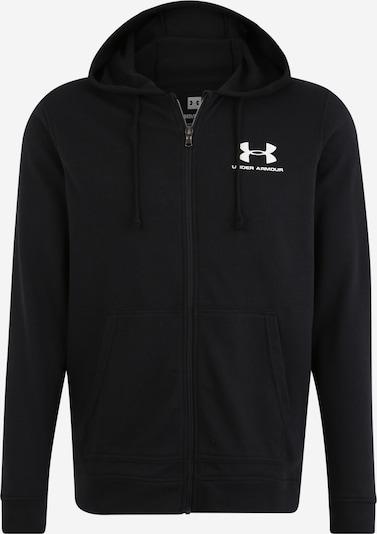 Sportinė striukė iš UNDER ARMOUR , spalva - juoda / balta, Prekių apžvalga