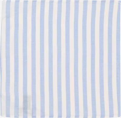 JOOP! Sjaal in de kleur Smoky blue / Wit, Productweergave