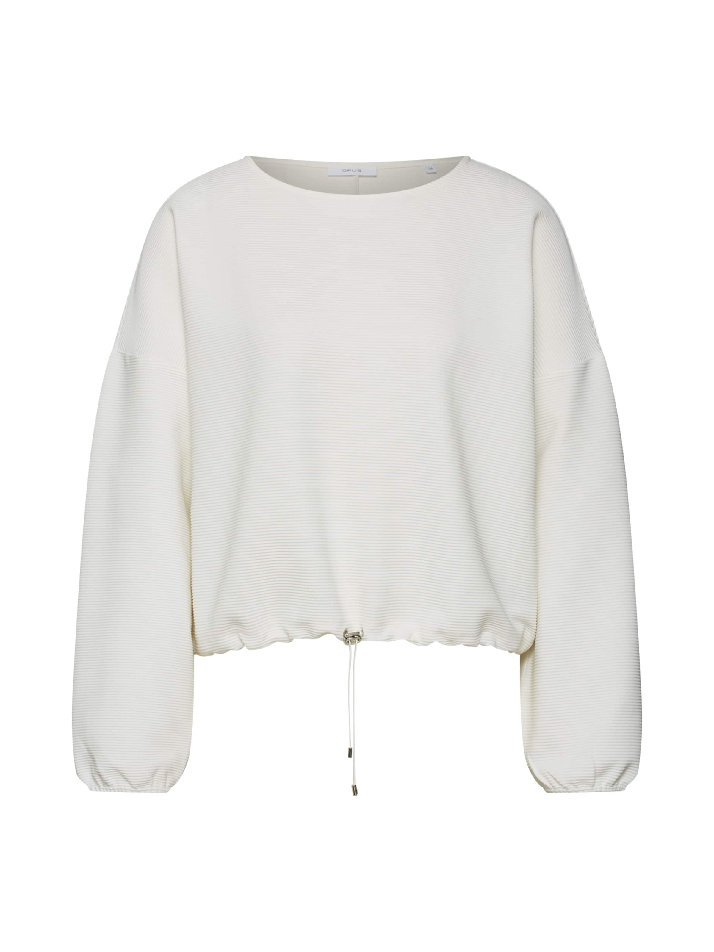 Sweatshirt Sweatshirt Sweatshirt Opus 'goneta' Opus Creme 'goneta' In In Opus Creme LSzVpUMqG