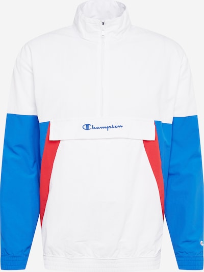 Champion Authentic Athletic Apparel Windbreaker in blau / rot / weiß, Produktansicht