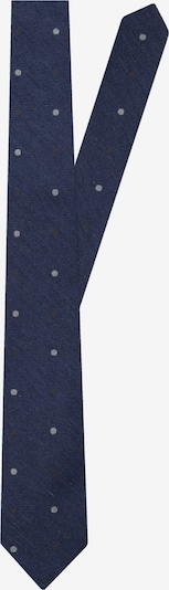 SEIDENSTICKER Krawatte in navy / hellgrau, Produktansicht