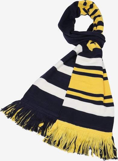 PUMA Sjaal 'Long Varsity' in de kleur Marine / Geel / Wit, Productweergave