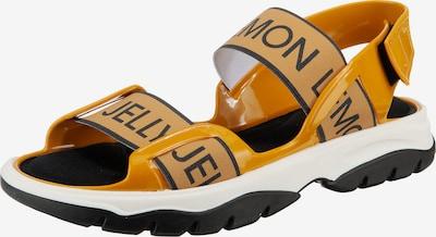 LEMON JELLY Sandale 'Becky' in gelb / schwarz / weiß, Produktansicht