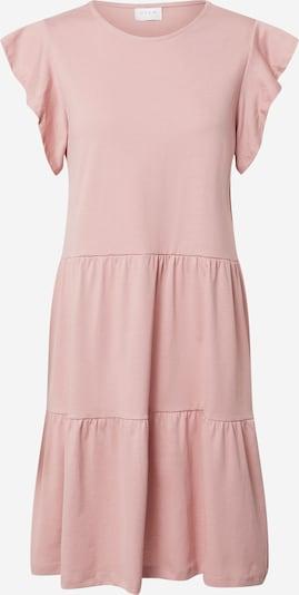 VILA Letní šaty - růžová: Pohled zepředu