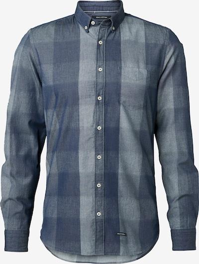 Marc O'Polo Hemd in blau / rauchblau, Produktansicht