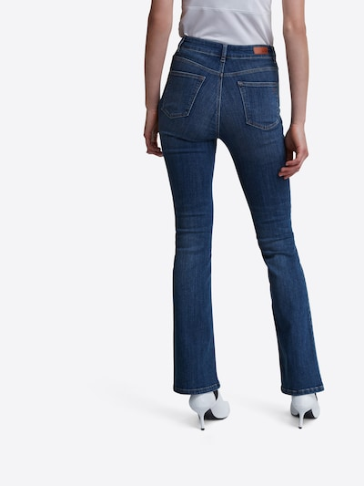 SET Jeansy w kolorze niebieski denimm: Widok od tyłu