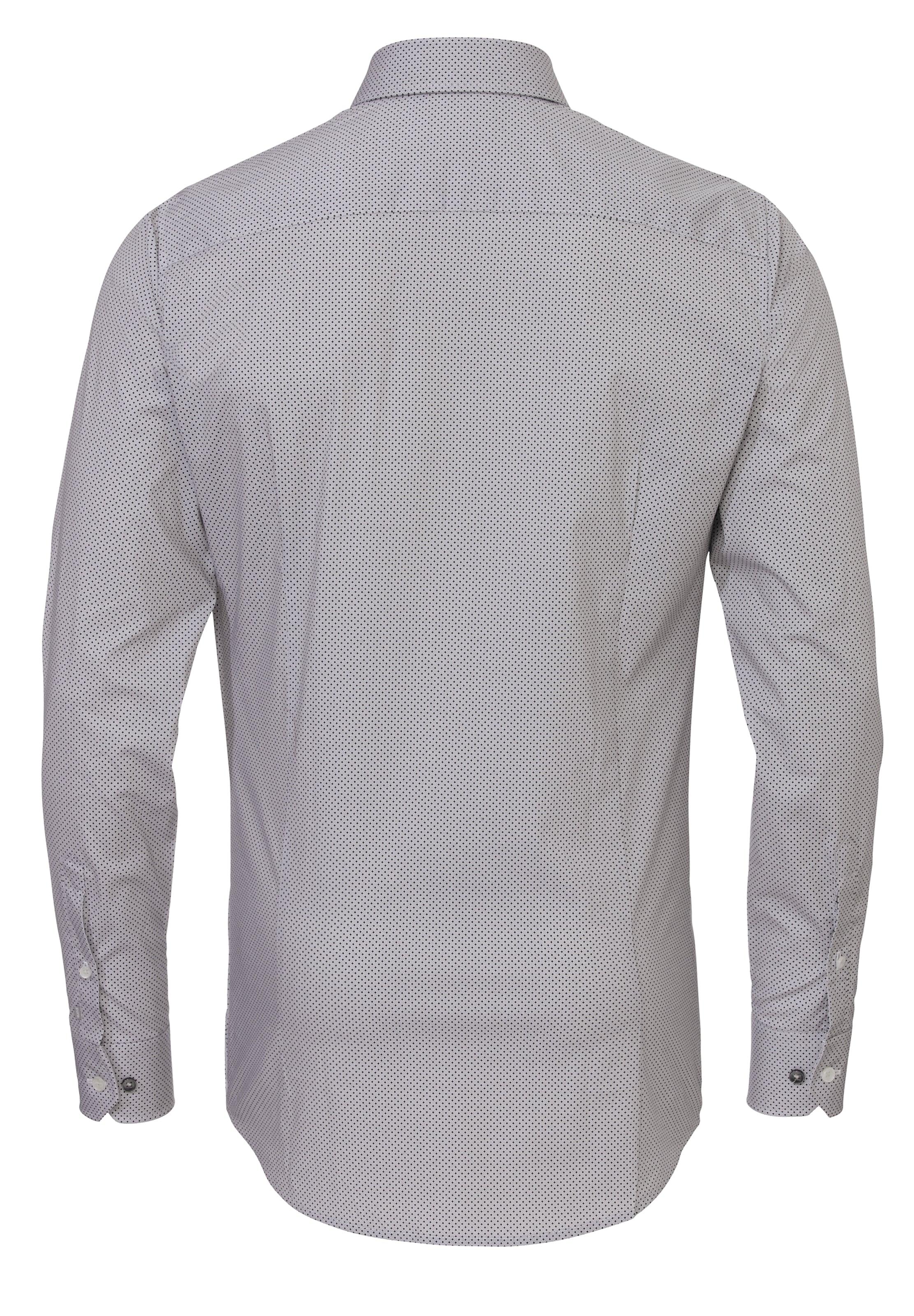 Manchester Große Online-Verkauf Verkauf Fabrikverkauf PURE Langarm-Hemd City Silver Extra Slim Verkauf Geschäft qP1derS