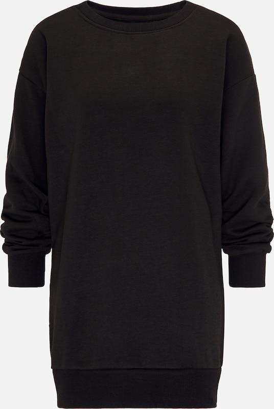 MYMO Pullover in schwarz  Freizeit, schlank, schlank