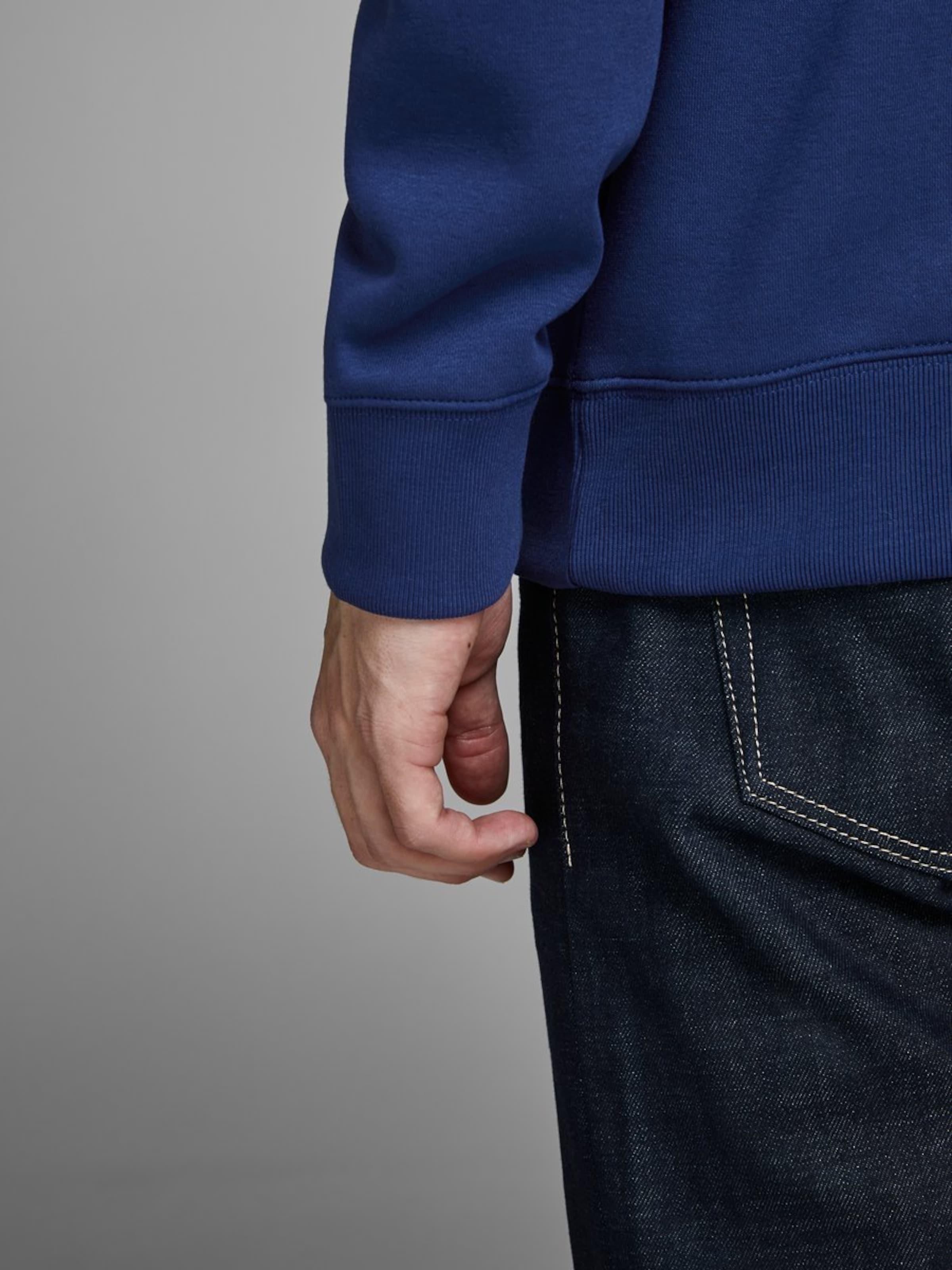 Dunkelblau 'soft' Sweatshirt Jackamp; In Jones 5RL4jA