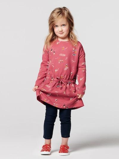 Noppies Kleid 'Croydon' in honig / pastellrot / schwarz / weiß: Frontalansicht