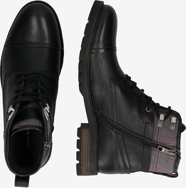 Veterboots 'WINTER LEATHER TEXTILE MIX BOOT'