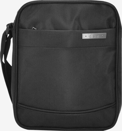 D&N Umhängetasche in schwarz, Produktansicht