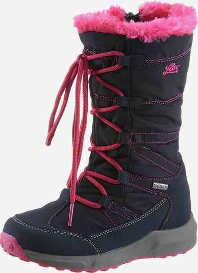 LICO Winterstiefel in navy / pink, Produktansicht