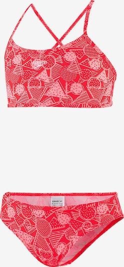 SPEEDO Bikini in pastellpink / rot, Produktansicht