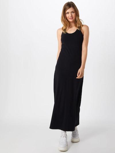 Urban Classics Kleid 'Ladies Long Racer Back Dress' in schwarz, Modelansicht