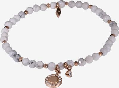 FOSSIL Armband 'VINTAGE MOTIFS' in grau / weiß, Produktansicht