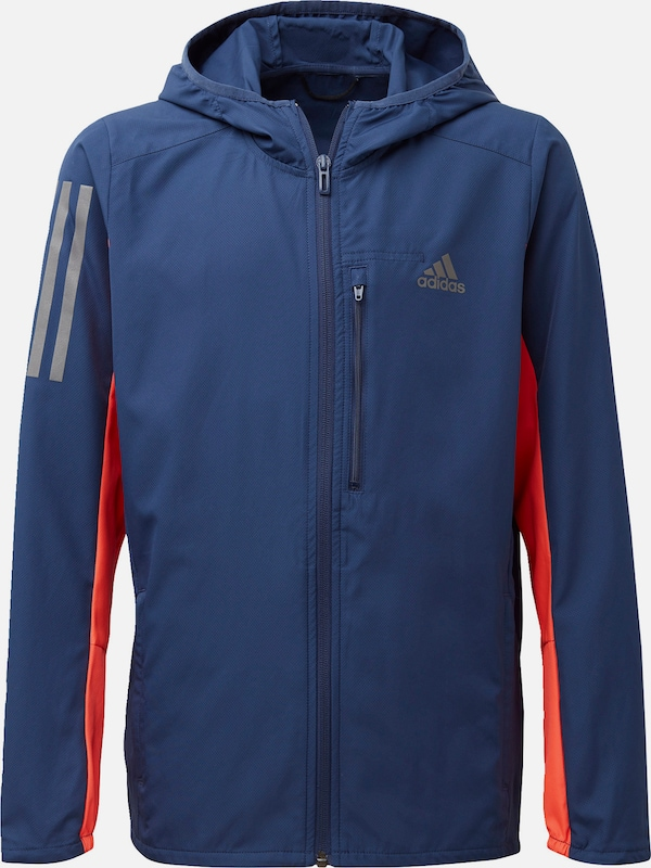 ADIDAS PERFORMANCE Outdoorjacke in blau / neonorange, Produktansicht