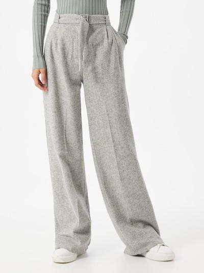 Trendyol Spodnie w kolorze beżowym, Podgląd na modelu(-ce)
