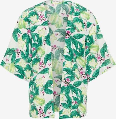 NAME IT Kimono in grün / rosa / weiß, Produktansicht