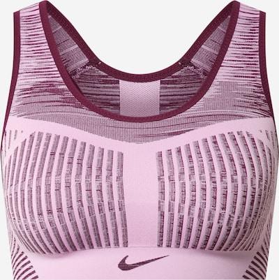 NIKE Biustonosz sportowy w kolorze jagoda / różowy pudrowym, Podgląd produktu