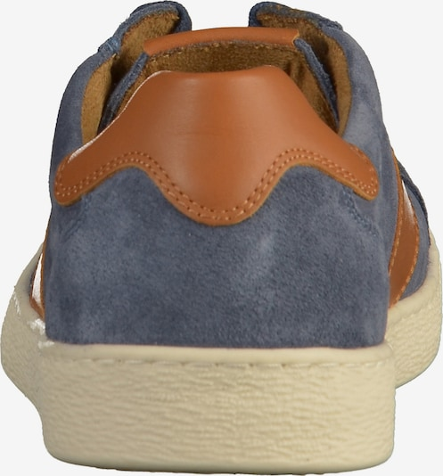 CAMEL ACTIVE Sneakers laag in Smoky blue / Cognac Wn2cCgqg
