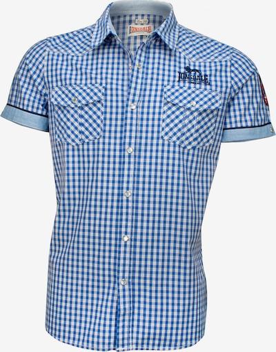 LONSDALE Hemd in blau / weiß, Produktansicht