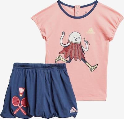 ADIDAS PERFORMANCE Sportanzug in navy / rosa, Produktansicht