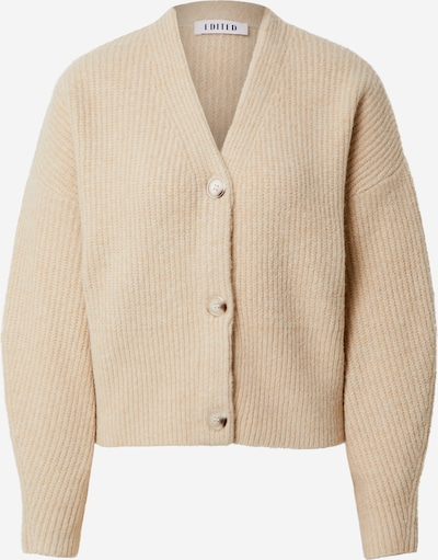 EDITED Strickjacke 'Susan' in beige, Produktansicht