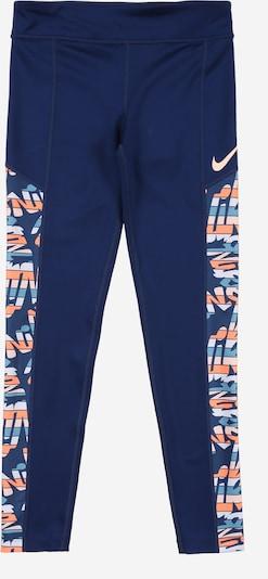 NIKE Sportovní kalhoty 'TROPHY' - modrá / mix barev, Produkt