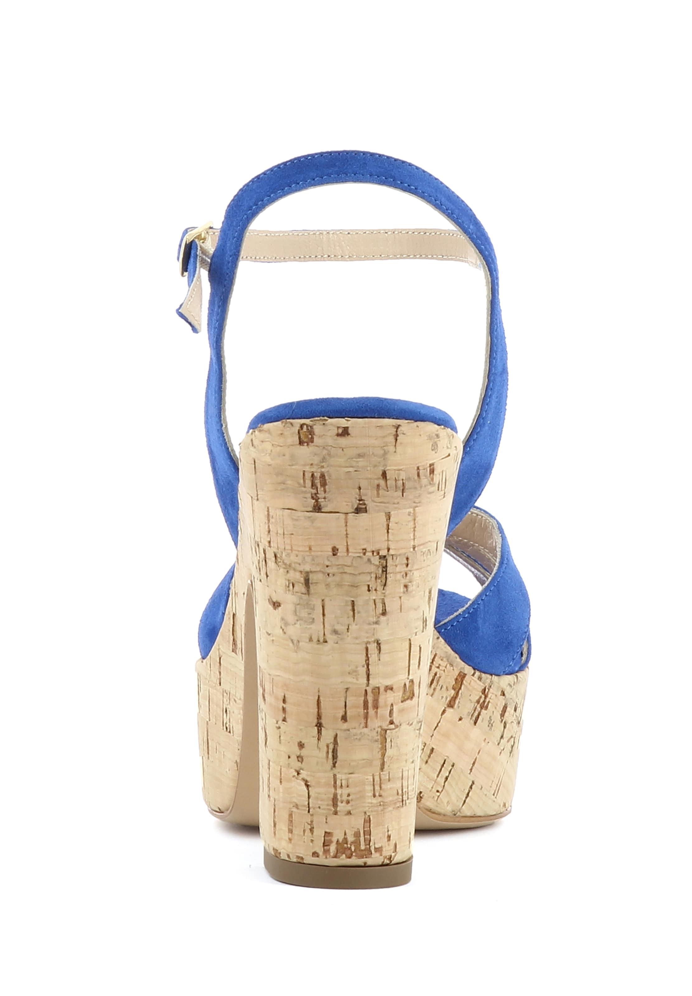 Evita Damen Damen Damen Evita Blau Blau Sandalette In In Sandalette Evita 4L3c5AjqR