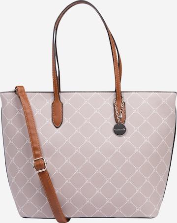 TAMARIS Shopper 'Anastasia' in Grau