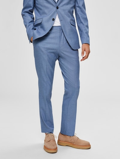 SELECTED HOMME Anzughose in hellblau, Modelansicht