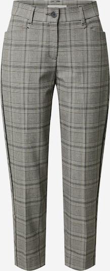 BRAX Bandplooibroek 'Style Mara' in de kleur Antraciet / Zwart, Productweergave