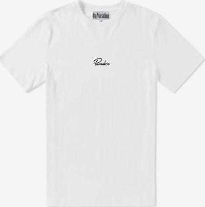 On Vacation T-Shirt in schwarz / weiß, Produktansicht
